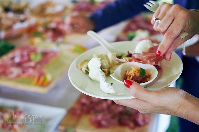 buffet aperitivo matrimonio Maio Group