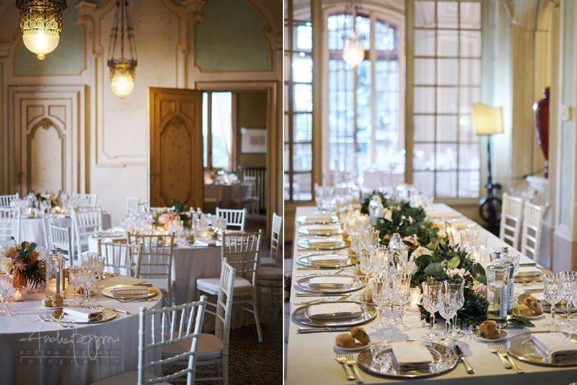 elegant wedding in Piedmont details