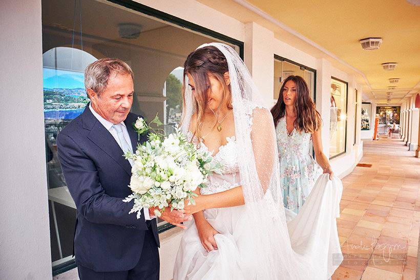 bouquet sposa reportage matrimonio