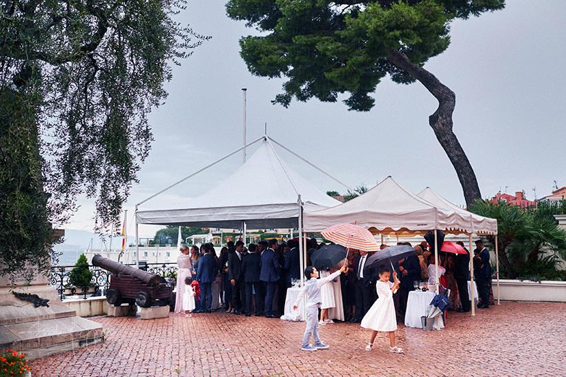 matrimonio con pioggia costa azzurra
