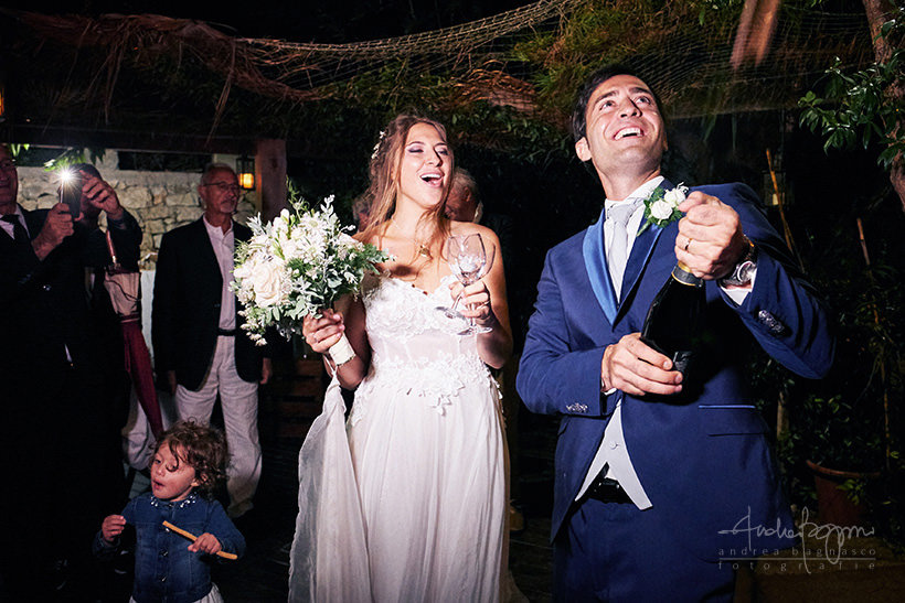 brindisi sposi matrimonio plage de passable