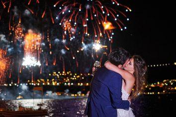 fireworks matrimonio plage de passable