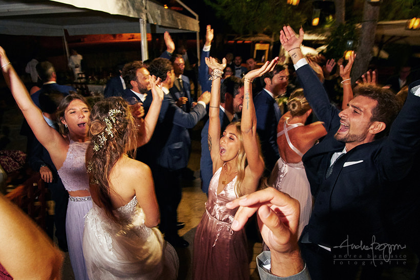 wedding party plage de passable