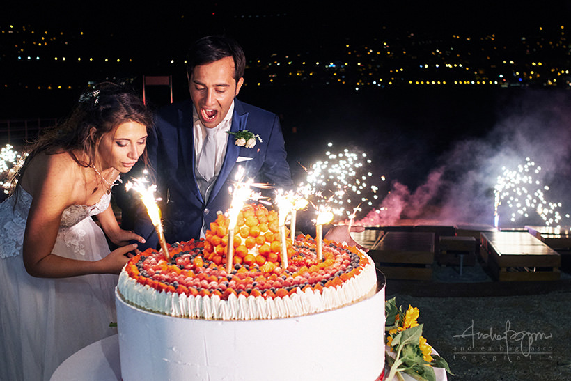 taglio torta matrimonio plage de passable