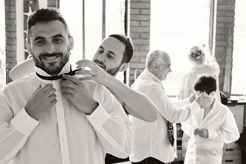 preparazione sposo matrimonio santa margherita