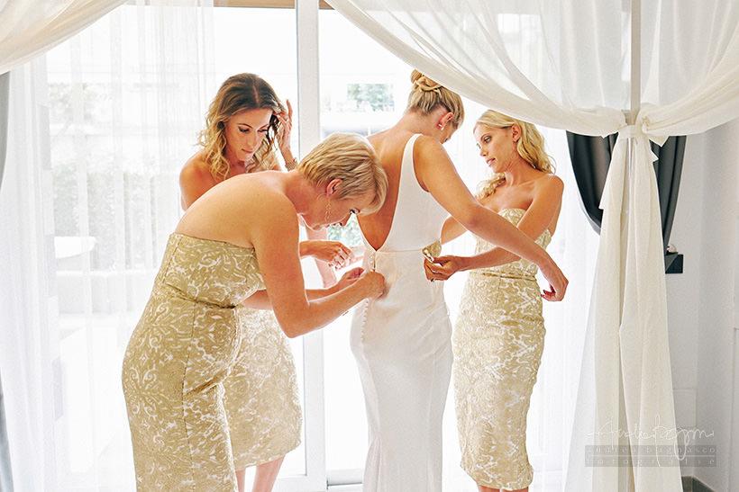 preparazione sposa matrimonio santa margherita