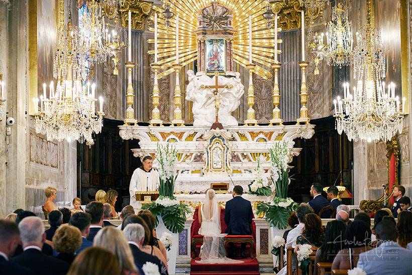 catholic wedding italy