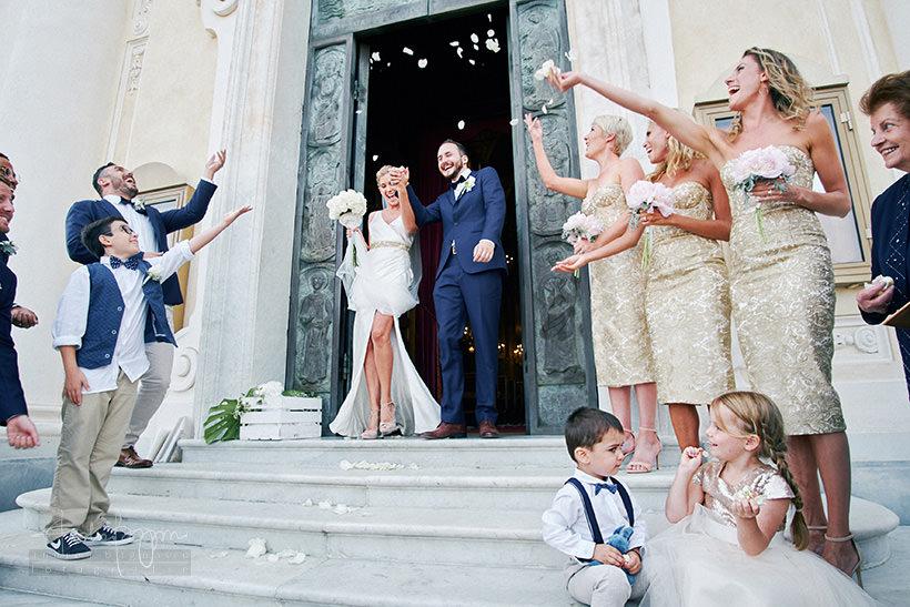 uscita sposi san giacomo di corte