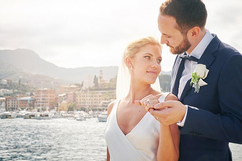 sposi matrimonio santa margherita ligure