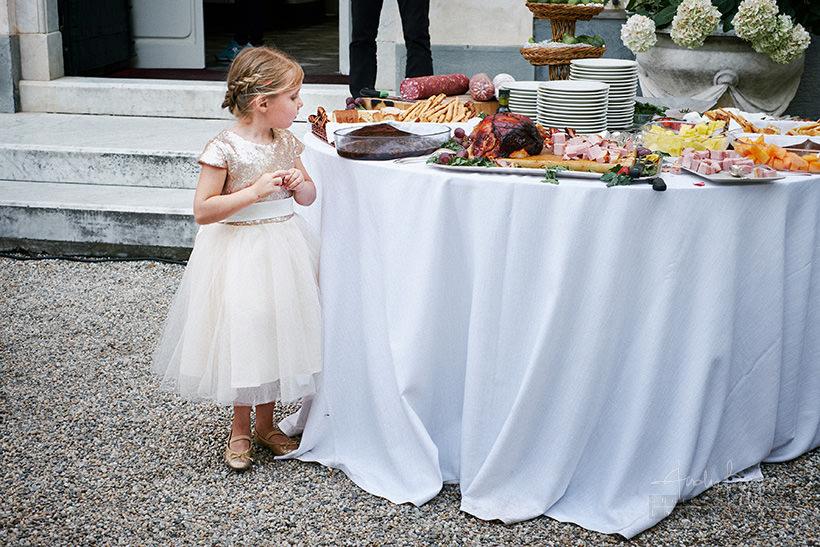 buffet matrimonio villa durazzo