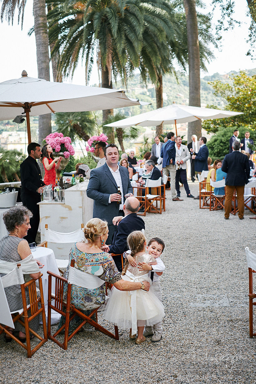 wedding reception santa margherita ligure