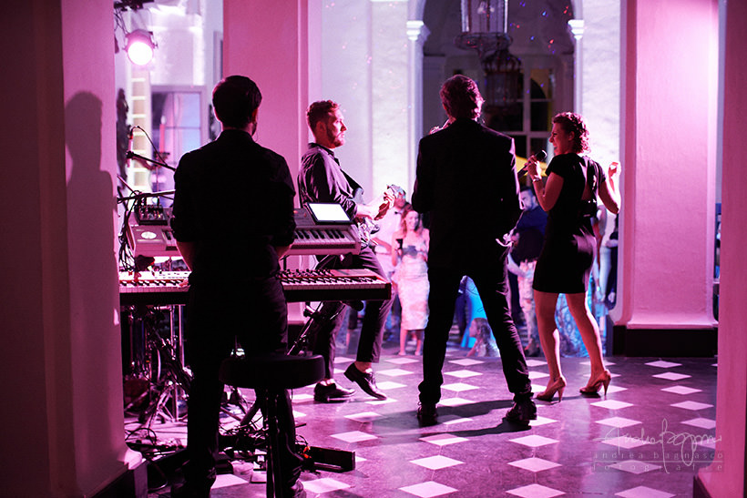 live music villa durazzo wedding