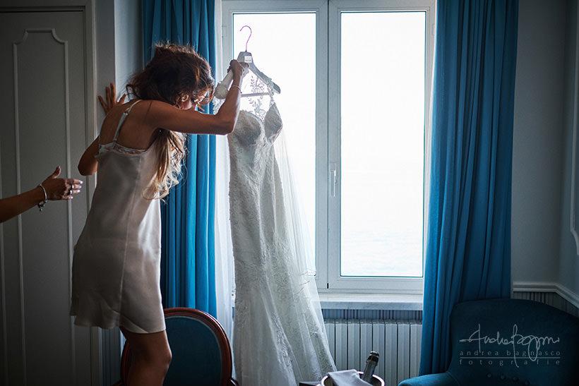 abito sposa matrimonio portofino