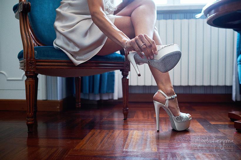 scarpe sposa matrimonio portofino