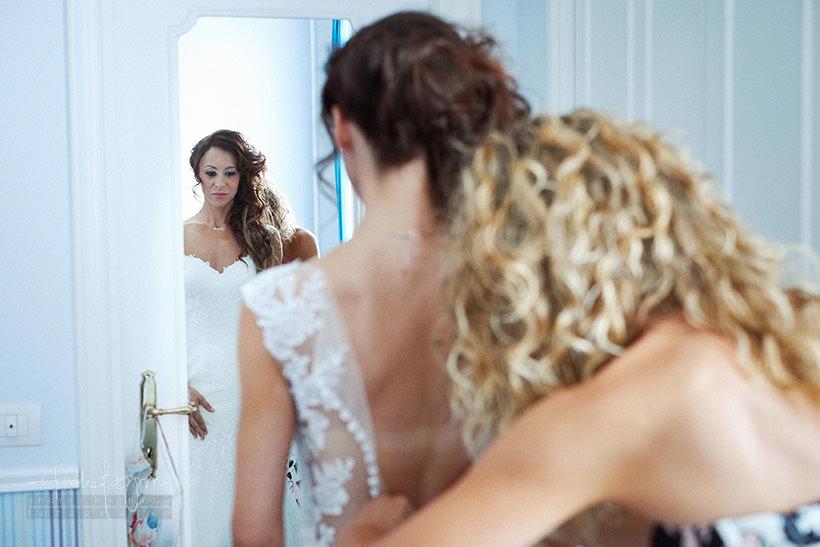 preparazione sposa matrimonio hotel miramare