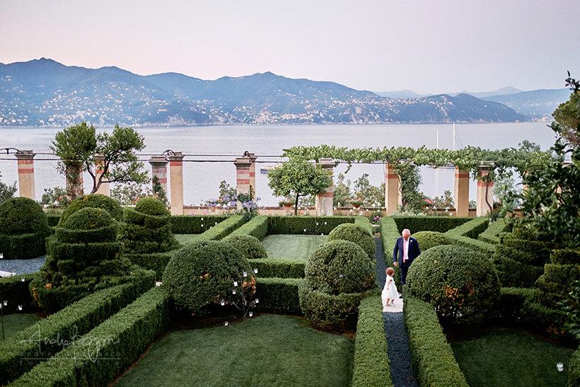 giardini la cervara portofino