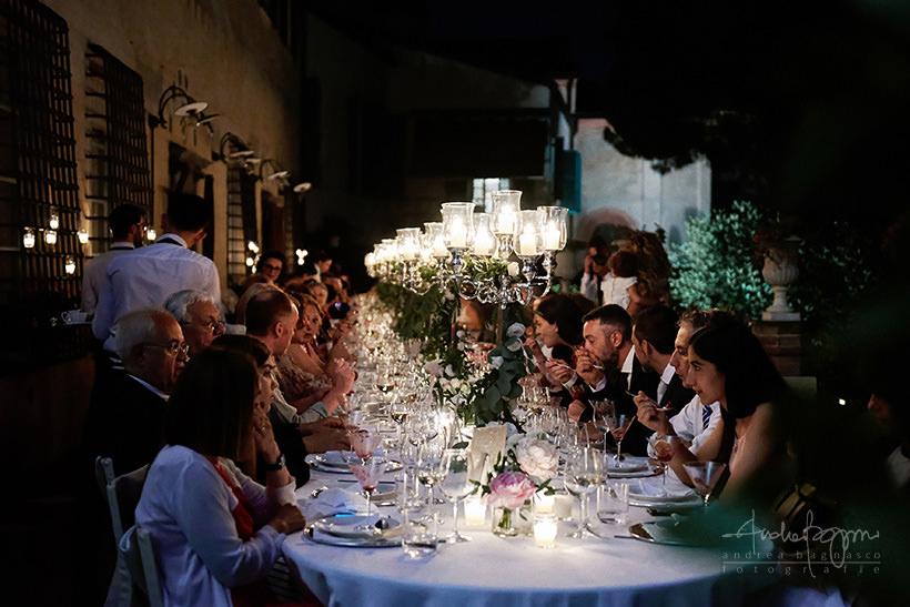 cena matrimonio la cervara portofino
