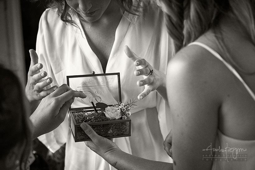 dettagli matrimonio portafedi