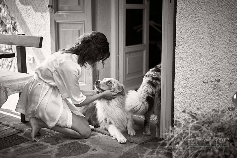 preparazione sposa matrimonio la ginestra