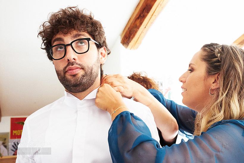 preparazione sposo reportage matrimonio