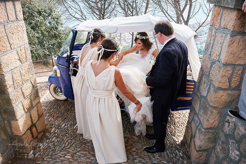 arrivo sposa matrimonio verezzi