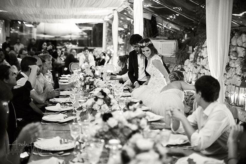 arrivo sposi matrimonio la ginestra