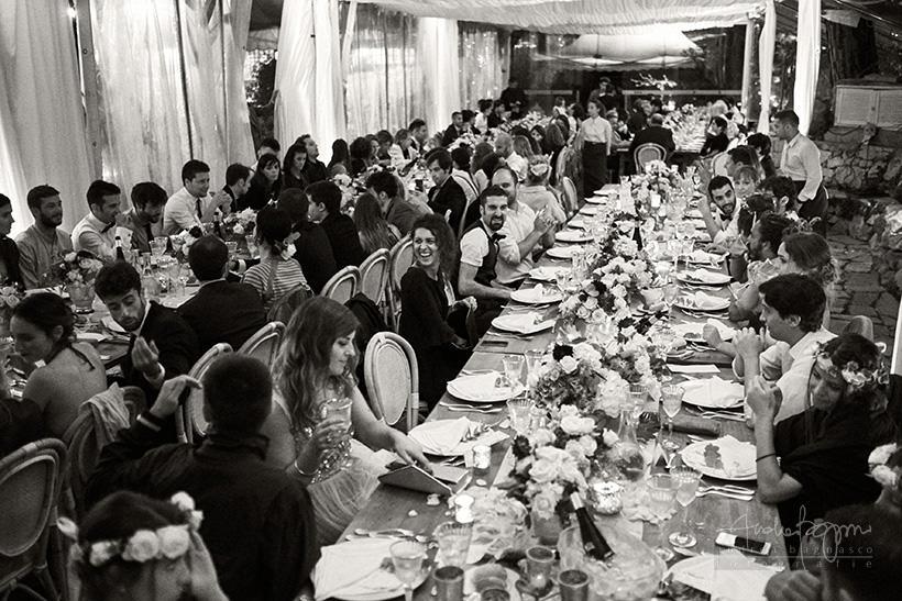 matrimonio la ginestra tavolo imperiale