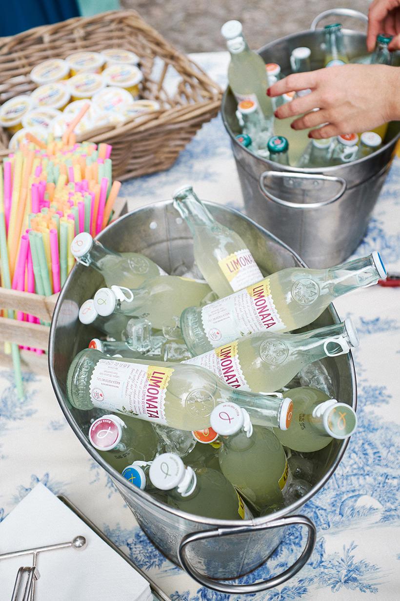 rinfresco matrimonio limonata