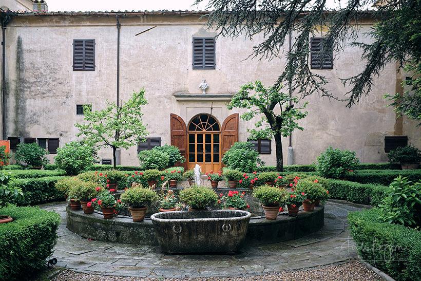 villa medicea di Lilliano Firenze