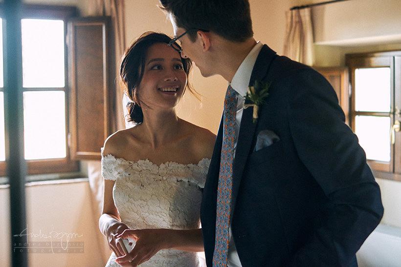 sposi matrimonio villa medicea di Lilliano Firenze
