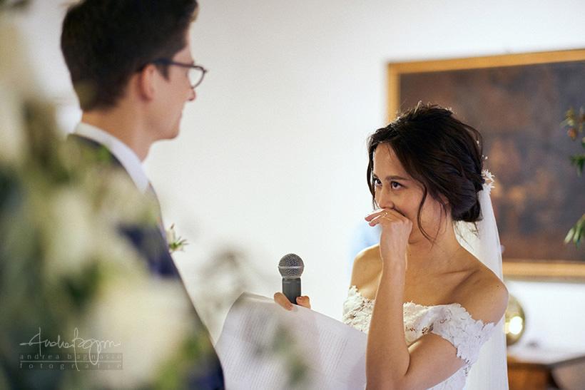 discorso matrimonio sposa