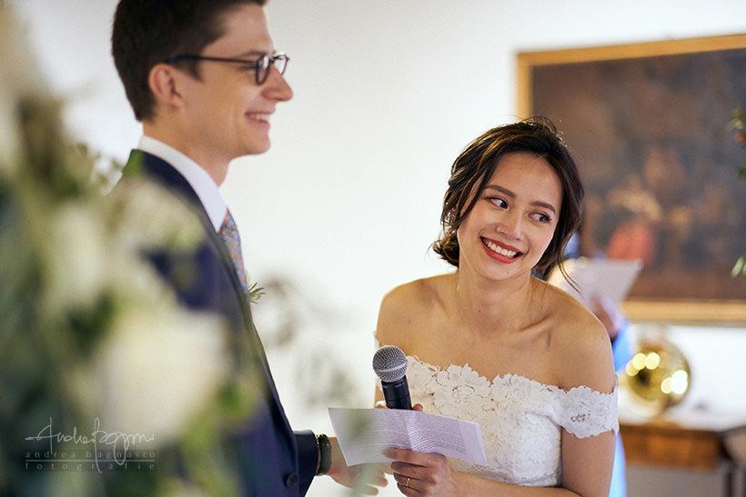 promesse di matrimonio sposa