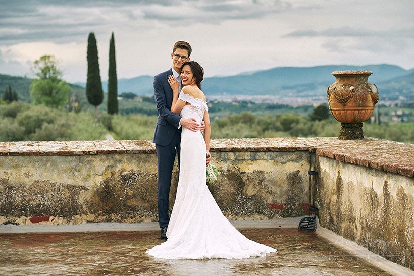 matrimonio villa medicea di Lilliano Firenze