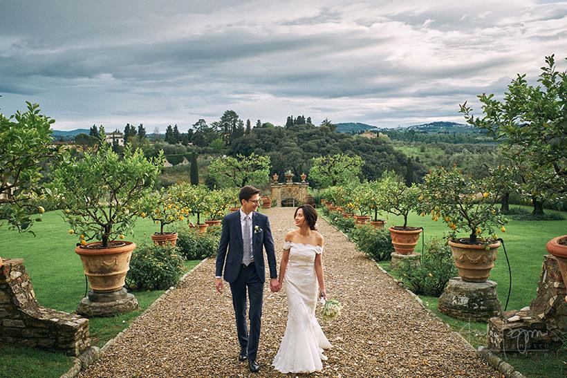 florence wedding villa medicea di Lilliano Firenze