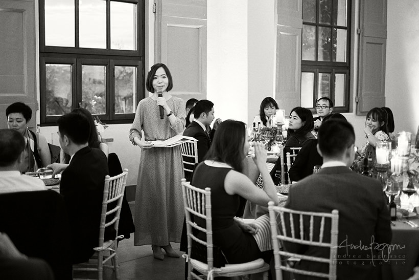 guest speech during wedding