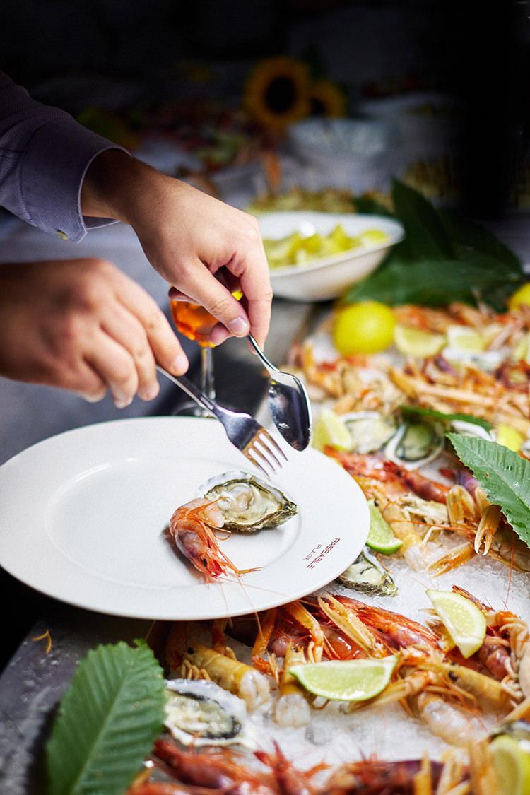 dettaglio buffet matrimonio costa azzurra