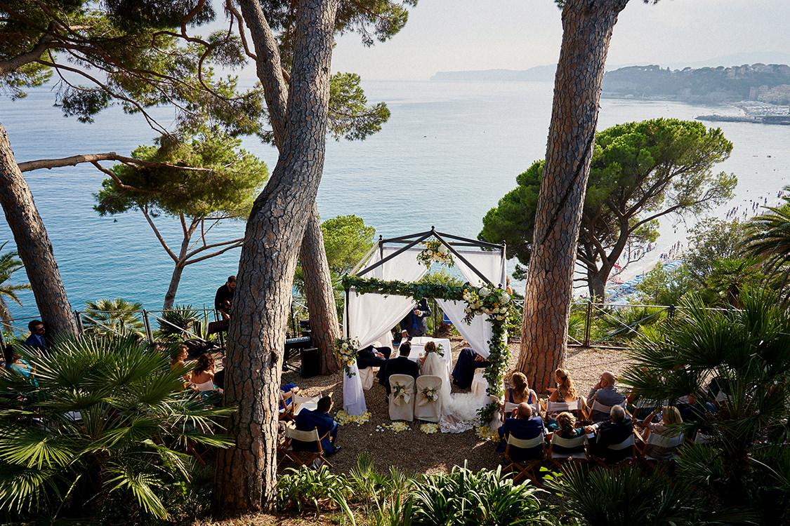 matrimonio sul mare villa lagorio celle ligure