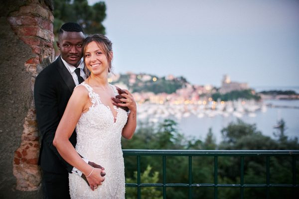 sposi matrimonio villa marigola lerici