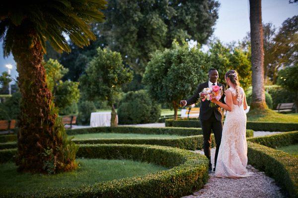 sposi matrimonio villa marigola