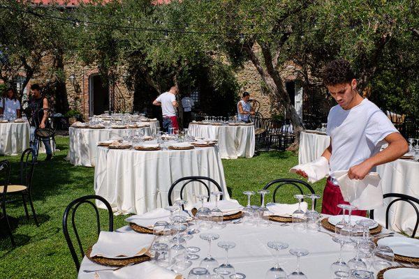 wedding preparation eremo della maddalena