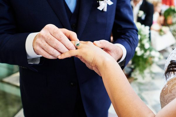 wedding in cinque terre ring exchange