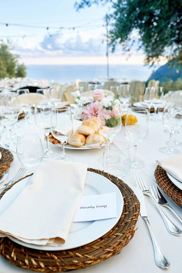 dinner with a view wedding eremo della maddalena