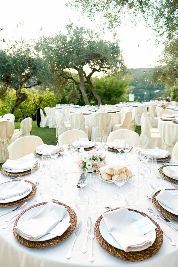 wedding detail mise en place eremo della maddalena