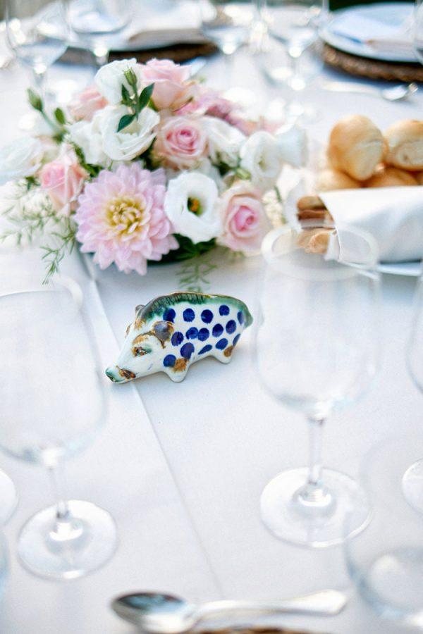dettaglio segnaposto matrimonio eremo della maddalena wedding