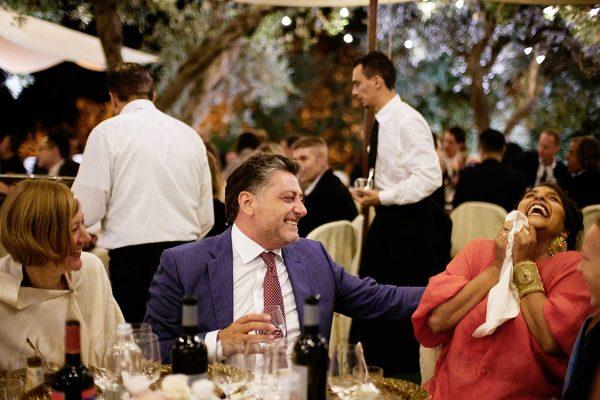 guests wedding eremo della maddalena