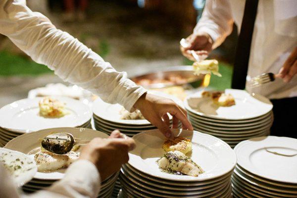 Capurro caterers wedding eremo della maddalena