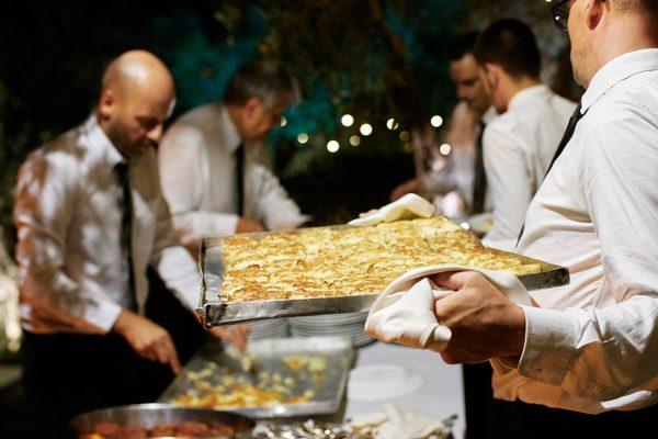 caterers wedding eremo della maddalena