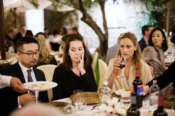 wedding reception eremo della maddalena