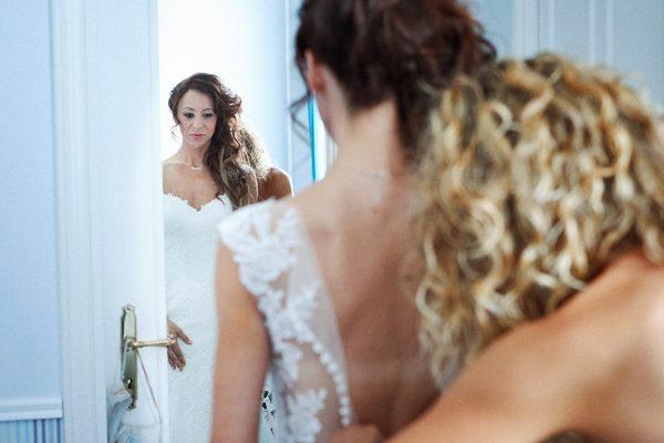 preparazione sposa matrimonio la cervara