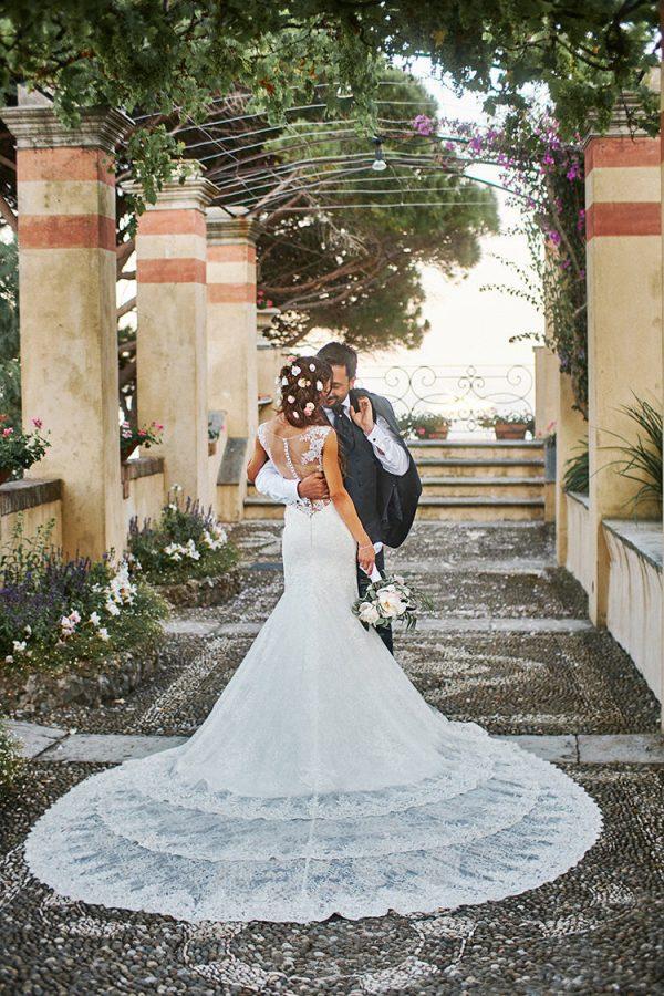 abito sposa matrimonio la cervara